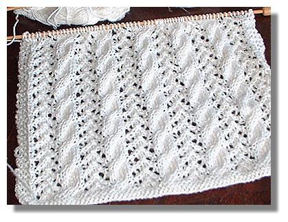 Net Lace Knitting Pattern : LACE KNITTING STITCH PATTERNS   Free Patterns